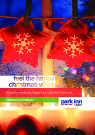 Parkinn.com/christmas Amazing events packages for a colourful Christmas.
