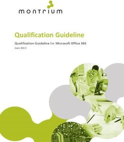 Qualification Guideline Qualification Guideline for Microsoft Office 365
