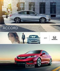 Honda Accord 2017 Brochure
