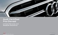 Audi Certified Pre-Owned - Limited Warranty and Roadside Assistance