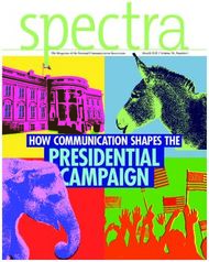 PRESIDENTIAL CAMPAIGN - HOW COMMUNICATION SHAPES THE - National ...