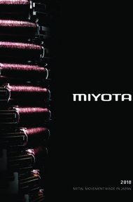 MIYOTA 2018 METAL MOVEMENT MADE IN JAPAN