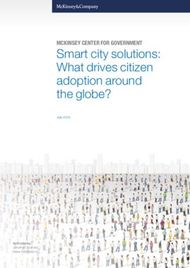 Smart city solutions: What drives citizen adoption around the globe?