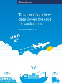 Travel and logistics: data drives the race for customers
