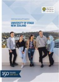 UNIVERSITY OF OTAGO NEW ZEALAND 2020