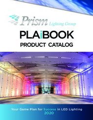 PLAIBOOK PRODUCT CATALOG - LIGHTING GROUP - PRISM LIGHTING GROUP