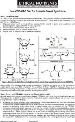 diet for irritable bowel syndrome pdf