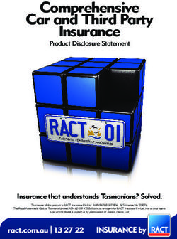 Comprehensive Car and Third Party Insurance