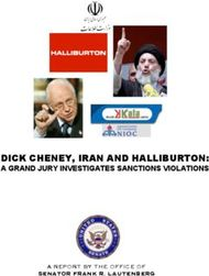 DICK CHENEY, IRAN AND HALLIBURTON: A GRAND JURY INVESTIGATES SANCTIONS VIOLATIONS