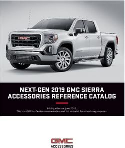 NEXT-GEN 2019 GMC SIERRA ACCESSORIES REFERENCE CATALOG