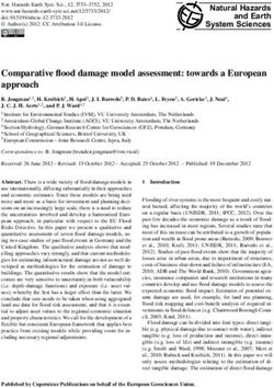 Comparative flood damage model assessment: towards a European approach