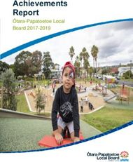 Achievements Report - Ōtara-Papatoetoe Local Board 2017-2019