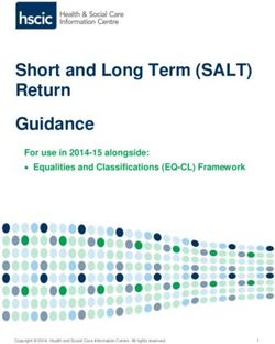 Short and Long Term (SALT) Return