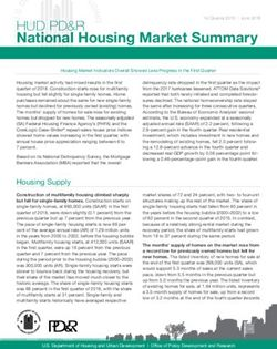National Housing Market Summary - HUD PD&R