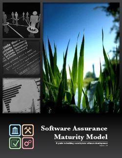 Software Assurance Maturity Model A guide to building security into software development