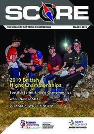 2019 British Night Championships - Scottish Orienteering Association
