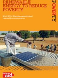 RENEWABLE ENERGY TO REDUCE POVERTY - TOOLKIT 4: PLANNING DECENTRALISED ...