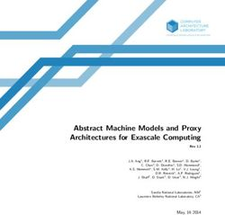 Abstract Machine Models and Proxy Architectures for Exascale Computing