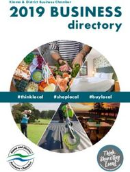 2019 BUSINESS - directory