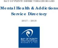 Mental Health & Addictions Service Directory
