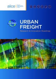 Urban freight Research & Innovation Roadmap - ETP-Alice