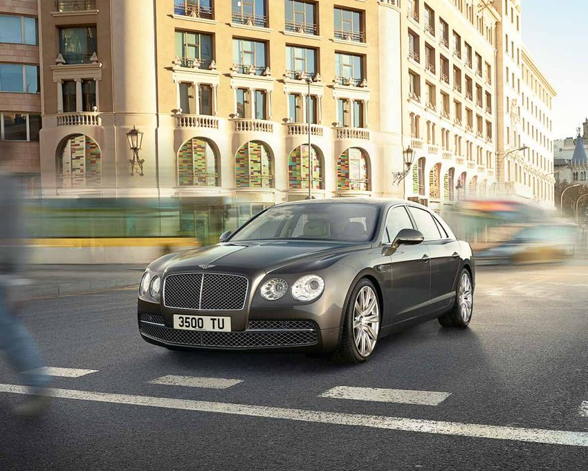 Bentley the new flying spur catalogue 2014 for Bentley motors limited dream cars