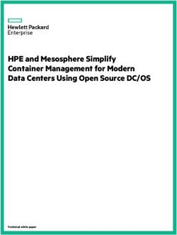 HPE and Mesosphere Simplify Container Management for Modern Data Centers Using Open Source DC/OS
