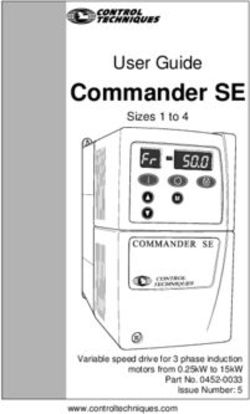 Commander SE - User Guide