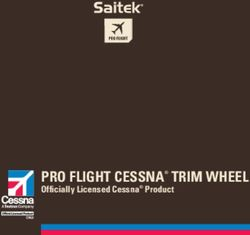 Pro Flight Cessna trim Wheel officially licensed Cessna Product