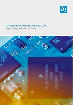 TQ-Embedded Product Catalogue 2017 - Beyond Embedded Modules