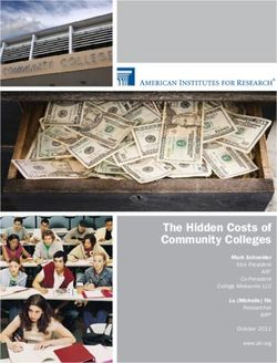 The Hidden Costs of Community Colleges