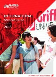 INTERNATIONAL - Student Guide 2018
