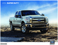 Ford Super Duty 2016 Specifications
