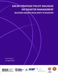 ASEAN STRATEGIC POLICY DIALOGUE ON DISASTER MANAGEMENT - BUILDING ...