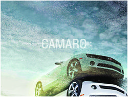 Chevrolet Camaro 2012. Coupe and Convertible. Brochure.