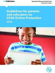 Guidelines for parents and educators on Child Online Protection - 2020 ...