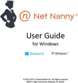 User Guide - for Windows