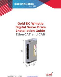 Gold DC Whistle Digital Servo Drive Installation Guide EtherCAT and CAN