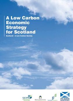 A Low Carbon Economic Strategy for Scotland