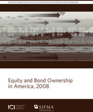 Equity and Bond Ownership in America, 2008