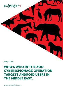 WHO'S WHO IN THE ZOO. CYBERESPIONAGE OPERATION TARGETS ANDROID USERS IN THE MIDDLE EAST.