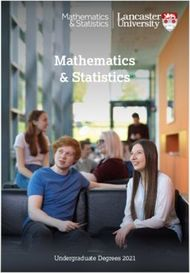 Mathematics & Statistics - Undergraduate Degrees 2021