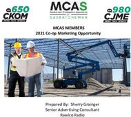MCAS MEMBERS 2021 Co-op Marketing Opportunity - Prepared By: Sherry Grainger ...