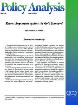 Recent Arguments against the Gold Standard
