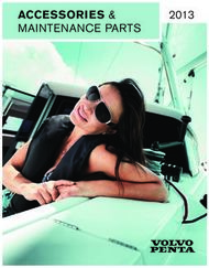 Accessories & Maintenance parts 2013 - DBMoteurs