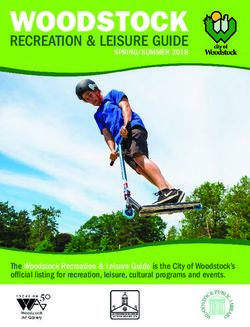 WOODSTOCK - RECREATION & LEISURE GUIDE