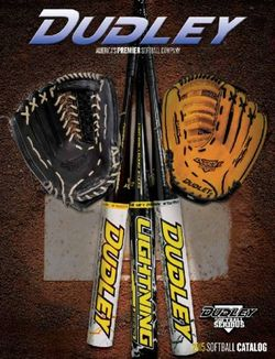 Dudley 2015 Softball Catalog. America's Premier Softball Company.