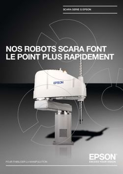 NOS ROBOTS SCARA FONT LE POINT PLUS RAPIDEMENT
