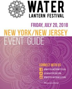 Event Guide new york/new jersey Friday, July 20, 2018