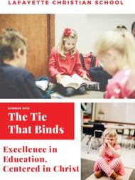 The Tie That Binds Excellence in Education, Centered in Christ